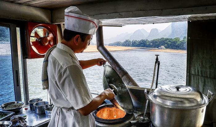 chef on board