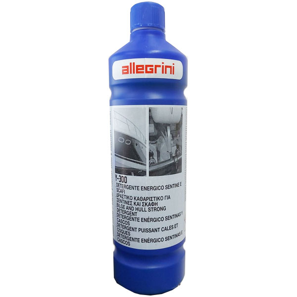 Allegrini Y-300 detergente energetico per scafi e gommoni