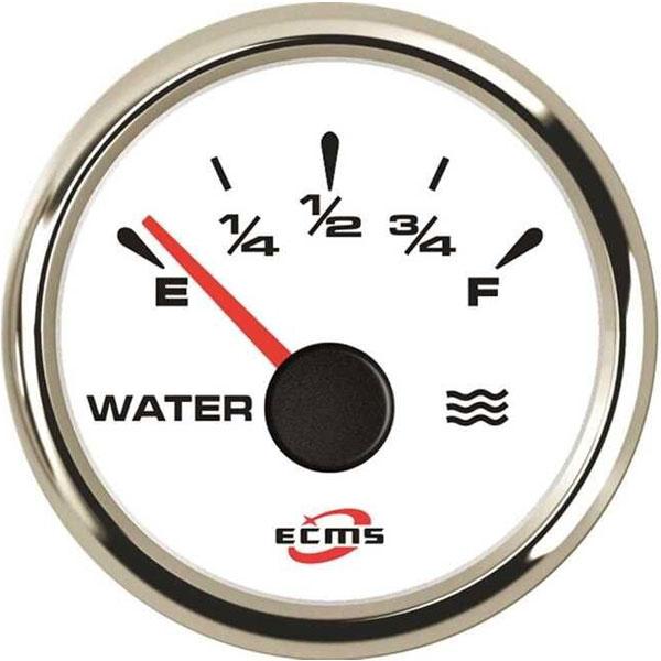 ECMS bianco cornice inox water