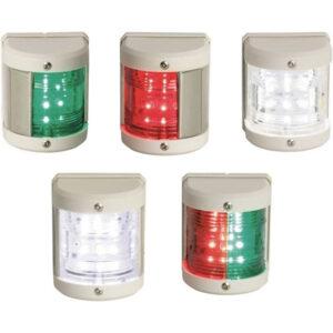 Fanali di navigazione medi R.I.N.A bianchi LED