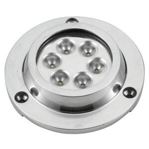 Faretto subacqueo Power-LED Round Inox