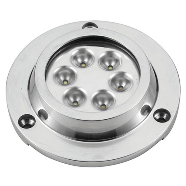 Faretto subacqueo Power-LED Round Inox