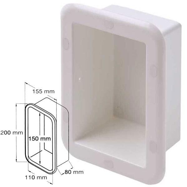 Nicchia in plastica Compact