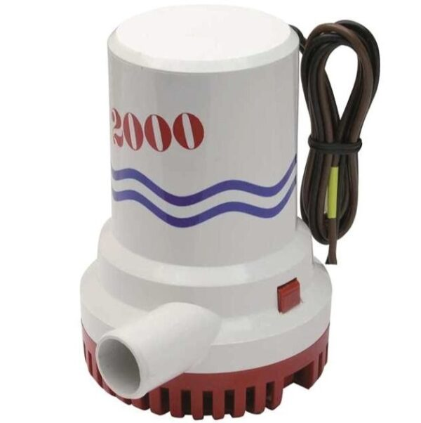 Pompa di sentina sommergibile BW 2000 GPH