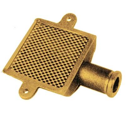 Succhiarola ottone per pompe autoadescanti