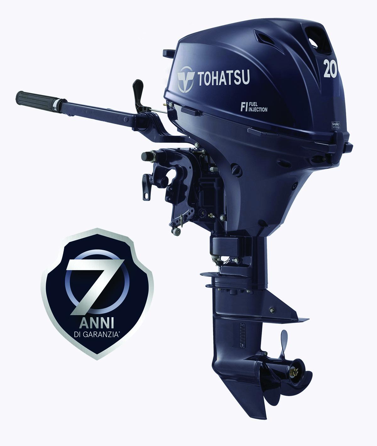 Tohatsu MFS 20