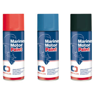 Bomboletta vernice spray per motori marini