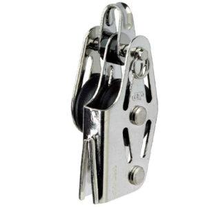 Bozzello doppio con arricavo e strozza scotta HS Sprenger scotta 6 mm