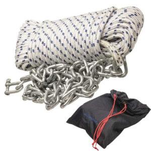 Kit ancoraggio cima più catena mooring-system