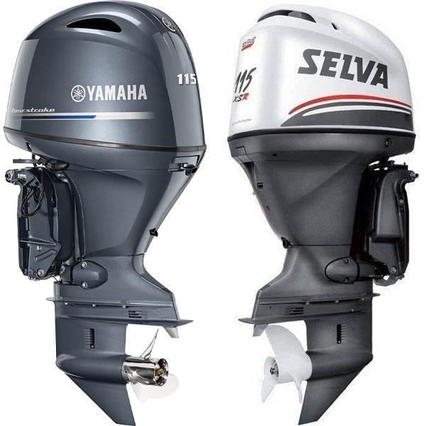 Kit tagliando Yamaha F115 e Selva Narwhal