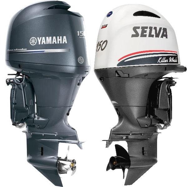 Kit tagliando Yamaha F150 e Selva Killer Whale
