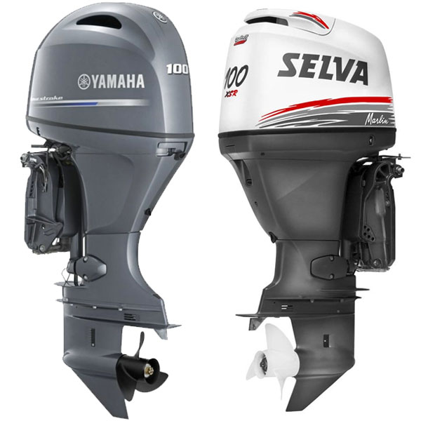 Kit tagliando Yamaha F80 F100 e Selva Marlin