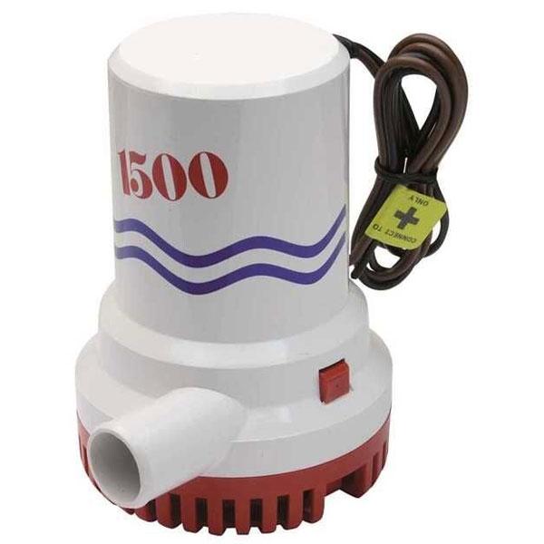 Pompa di sentina sommergibile BW 1500 GPH