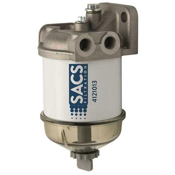 Pre-filtro diesel con coppa trasparente e spurgo