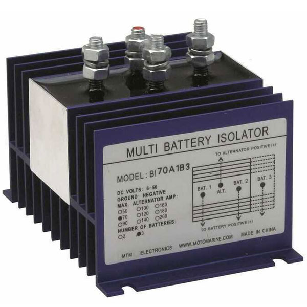 Ripartitore di carica per batterie