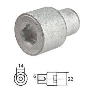 Anodo per Yamaha rif. 68V-11325-02